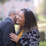 Séance engagement d'Aurélie et Federico